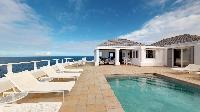 cool swimming pool of Saint Barth Villa Cap Au Vent luxury holiday home, vacation rental