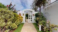 lovely garden of Saint Barth Villa Cap Au Vent luxury holiday home, vacation rental