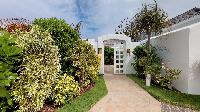 lush garden of Saint Barth Villa Cap Au Vent luxury holiday home, vacation rental