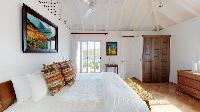 clean bed sheets in Saint Barth Villa Cap Au Vent luxury holiday home, vacation rental