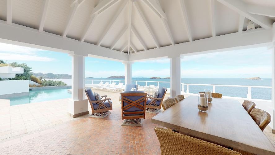 amazing Saint Barth Villa Cap Au Vent luxury holiday home, vacation rental