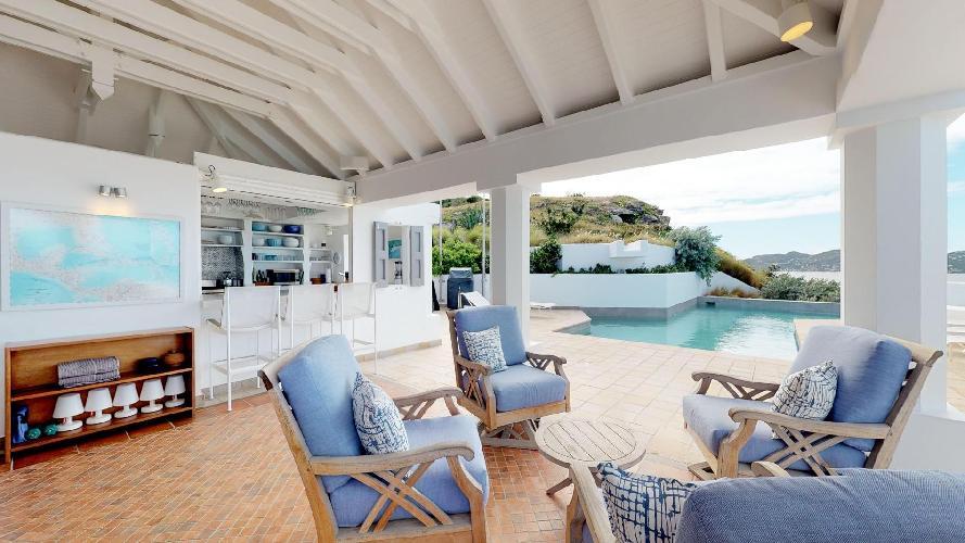 incredible Saint Barth Villa Cap Au Vent luxury holiday home, vacation rental