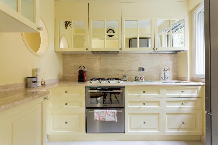 delightful kitchen of Rome - Via Dei Tre Orologi luxury apartment