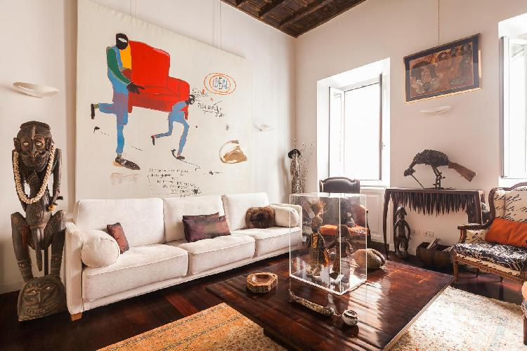 chic and charming Rome - Via Delle Tre Cannelle luxury apartment