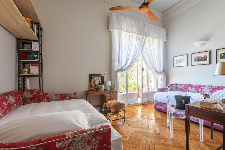 lovely bedroom of Rome - Via Lucullo luxury apartment