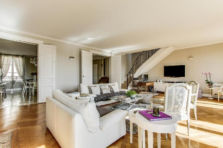 fully furnished Champs Elysées - Matignon Penthouse luxury apartment