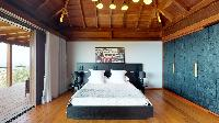 clean bed sheets in Saint Barth Villa Joy luxury holiday home, vacation rental