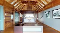 incredible ceiling of Saint Barth Villa Joy luxury holiday home, vacation rental
