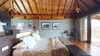 fresh bed sheets in Saint Barth Villa Joy luxury holiday home, vacation rental