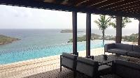 beautiful seafront Saint Barth Villa Joy luxury holiday home, vacation rental