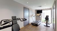 cool gym room of Saint Barth Villa Joy luxury holiday home, vacation rental