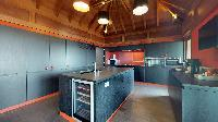 modern kitchen appliances in Saint Barth Villa Joy luxury holiday home, vacation rental