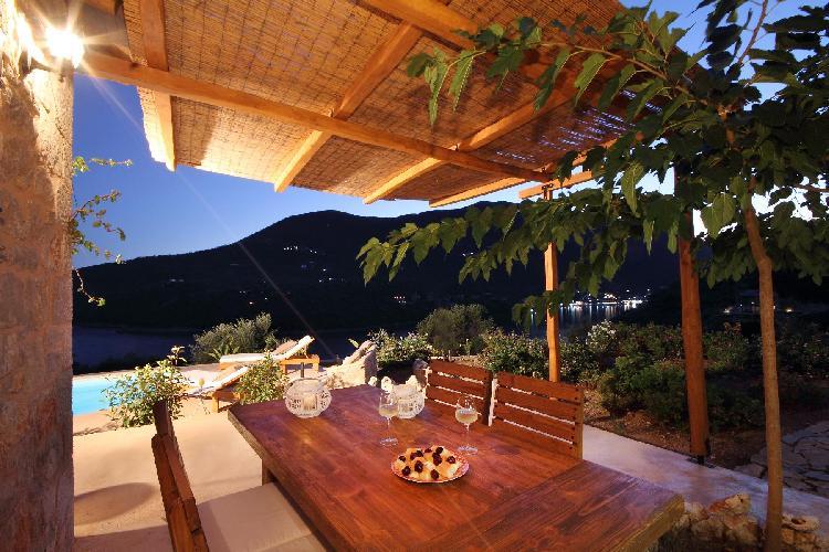romantic Lefkas Amapola Villa Phos luxury holiday home, vacation rental