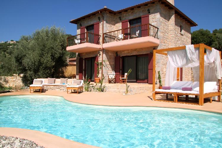 beautiful Lefkas Amapola Villa Agapi luxury holiday home, vacation rental