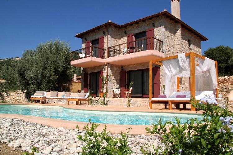 magnificent Lefkas Amapola Villa Agapi luxury holiday home, vacation rental