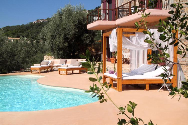 marvelous Lefkas Amapola Villa Agapi luxury holiday home, vacation rental