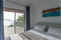 clean bed sheets in Saint Barth Villa Pointe Milou luxury holiday home, vacation rental