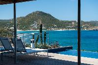 cool waterfront Saint Barth Villa Pointe Milou luxury holiday home, vacation rental
