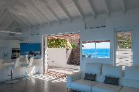 awesome seafront Saint Barth Villa Pointe Milou luxury holiday home, vacation rental