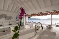 incredible ceiling of Saint Barth Villa Pointe Milou luxury holiday home, vacation rental