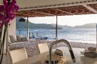 awesome sea view from Saint Barth Villa Pointe Milou luxury holiday home, vacation rental