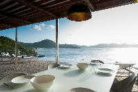 amazing sea view from Saint Barth Villa Pointe Milou luxury holiday home, vacation rental