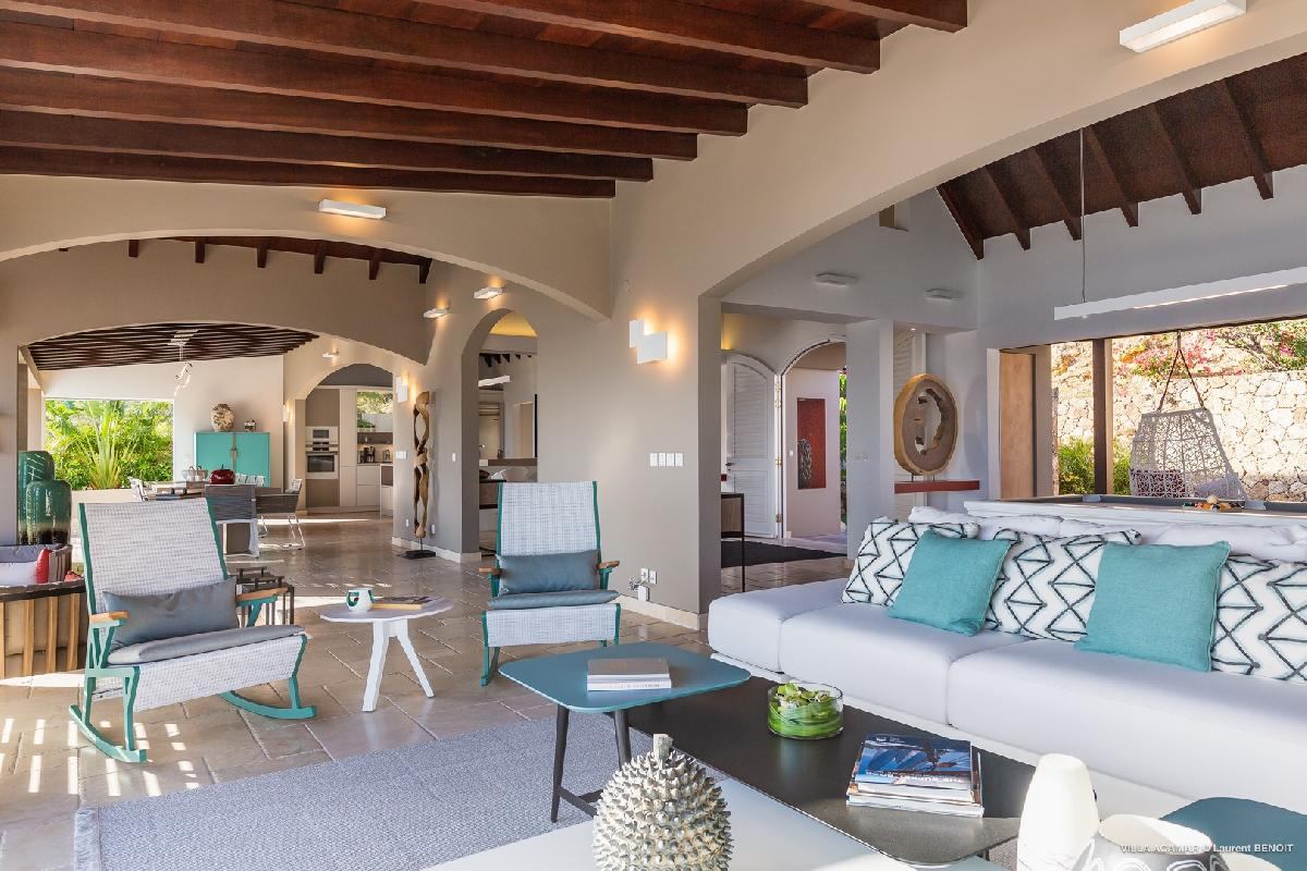 perfect Saint Barth Villa Acamar luxury holiday home, vacation rental