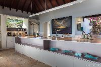 amazing interiors of Saint Barth Villa Acamar luxury holiday home, vacation rental