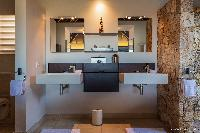 clean lavatory in Saint Barth Villa Acamar luxury holiday home, vacation rental