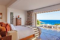 clean bedroom linens in Saint Barth Villa Acamar luxury holiday home, vacation rental