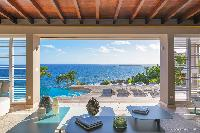 wonderful waterfront Saint Barth Villa Acamar luxury holiday home, vacation rental