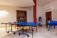 cool game room in Saint Barth Villa Acamar luxury holiday home, vacation rental