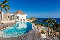 amazing architecture of Saint Barth Villa Acamar luxury holiday home, vacation rental