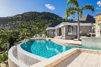 impressive architecture of Saint Barth Villa Acamar luxury holiday home, vacation rental