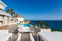 impeccable architecture of Saint Barth Villa Acamar luxury holiday home, vacation rental