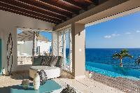 wonderful seaside Saint Barth Villa Acamar luxury holiday home, vacation rental