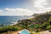 amazing sea view from Saint Barth Villa Acamar luxury holiday home, vacation rental