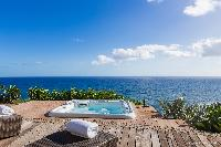 cool hot tub in Saint Barth Villa Acamar luxury holiday home, vacation rental