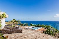 awesome sea view from Saint Barth Villa Acamar luxury holiday home, vacation rental