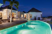 awesome pool of Saint Barth Villa Acamar luxury holiday home, vacation rental