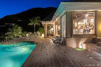 amazing pool of Saint Barth Villa Acamar luxury holiday home, vacation rental