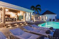cool swimming pool of Saint Barth Villa Acamar luxury holiday home, vacation rental