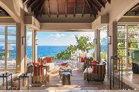 incredible ceiling of Saint Barth Villa Acamar luxury holiday home, vacation rental