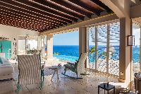 incredible lanai of Saint Barth Villa Acamar luxury holiday home, vacation rental