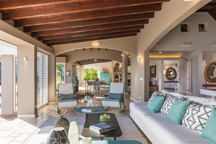 beautiful Saint Barth Villa Acamar luxury holiday home, vacation rental