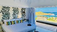 breezy and bright Saint Barth Villa Lagon Rose luxury holiday home, vacation rental