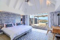 clean bed sheets in Saint Barth Villa Lagon Rose luxury holiday home, vacation rental