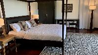 fully furnished Saint Barth Villa Lagon Rose luxury holiday home, vacation rental