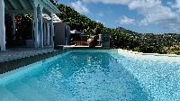 awesome pool of Saint Barth Villa Lagon Rose luxury holiday home, vacation rental