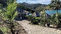 lush surroundings of Saint Barth Villa Lagon Rose luxury holiday home, vacation rental